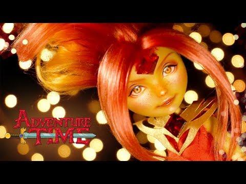 Flame Princess(Adventure Time) | Custom EAH Doll Repaint | Mozekyto #9