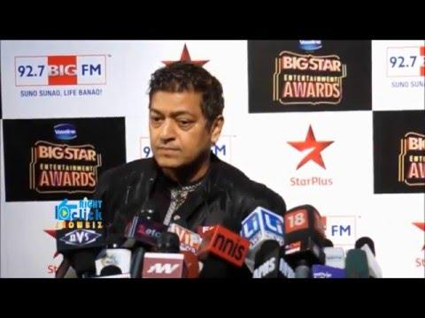 Aadesh Shrivastava. Big Star Entertainment Awards-2014. Red carpet