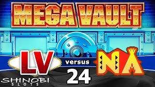 Las Vegas vs Native American Casinos Episode 24: Mega Vault Slot Machine + Bonus Win