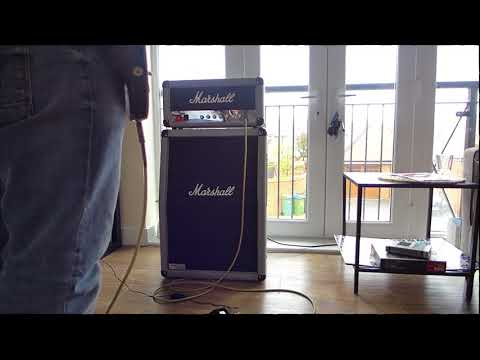 New Amp - New Song! Marshall 2525H Silver Jubilee Head + 2536A Cab