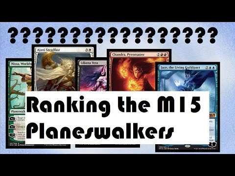Ranking M15 Planeswalkers Worst To Best M15 Spoilers Youtube