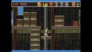 [Full GamePlay] The Revenge of Shinobi (Hardest Mode) [Sega Megadrive/Genesis]