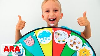 فلاد و قصة أطفال عن العجلة السحرية