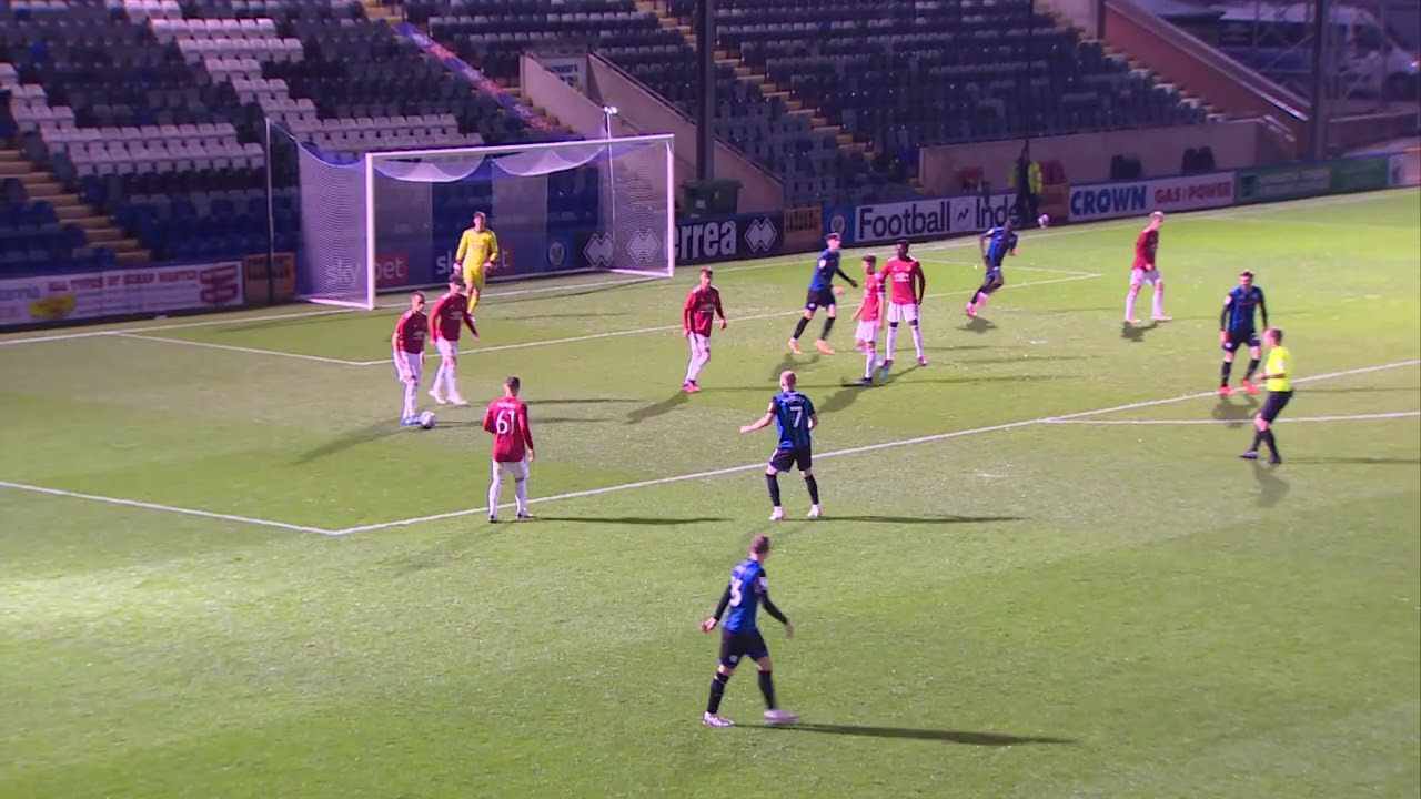 Rochdale v Manchester United U21 highlights