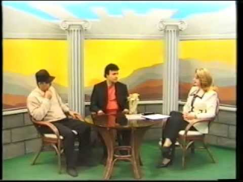 Yerevan TV - 2003 Daniel Decker for the first time in Armenia