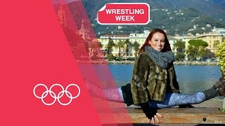 Olympics: The Hub - Wrestling Week, Slow Motion Training & Much More | 03/02/2015