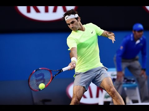Roger Federer vs Yen-Hsun Lu Highlights HD PART 1 Australian Open 2015
