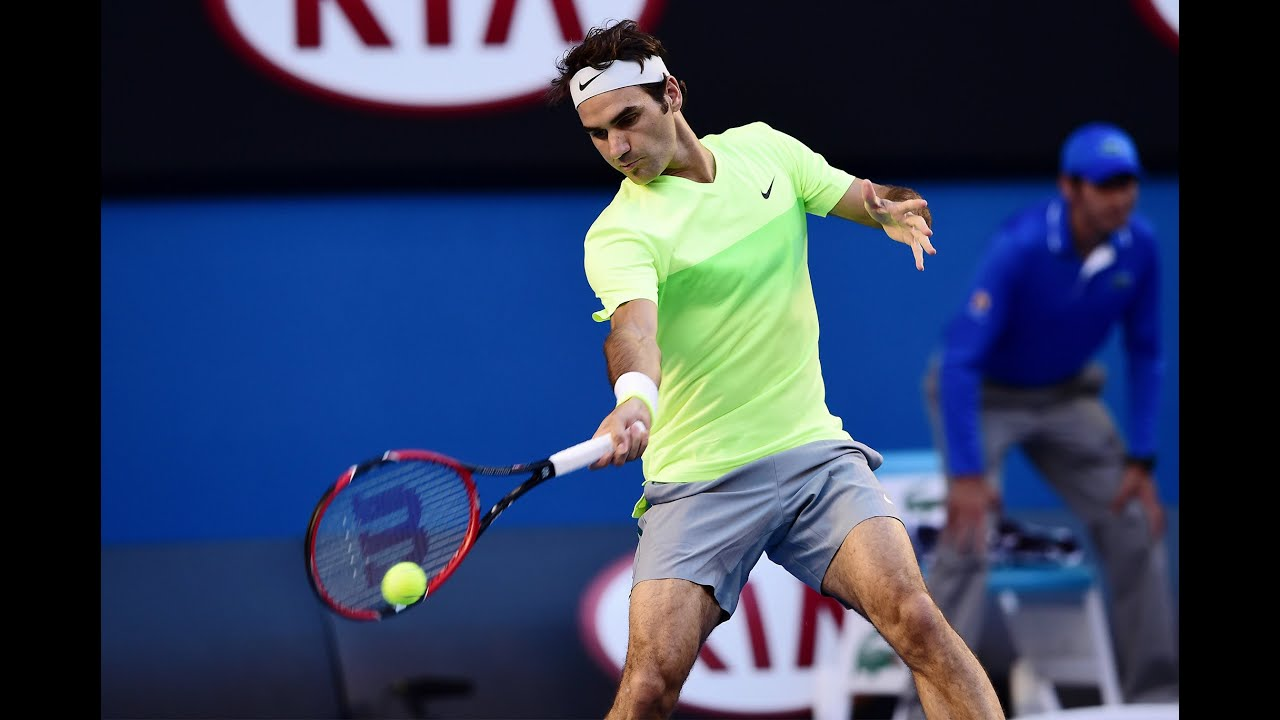 Roger Federer Hd: Roger Federer Vs Yen-Hsun Lu Highlights HD PART 1