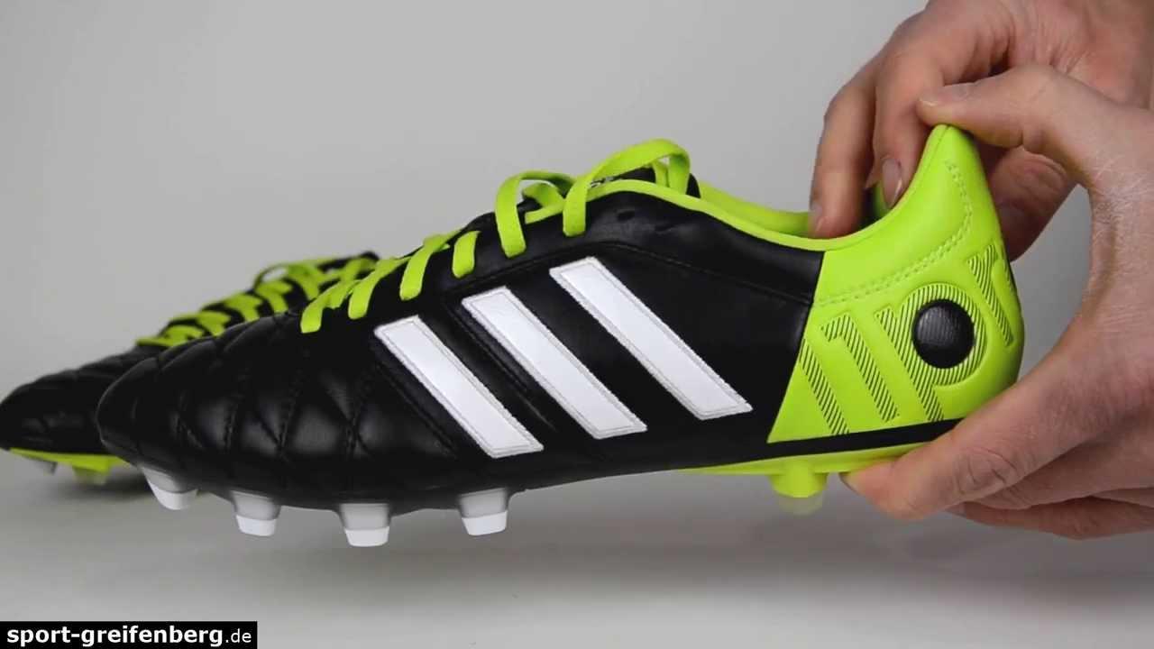 adidas adipure 11pro black green