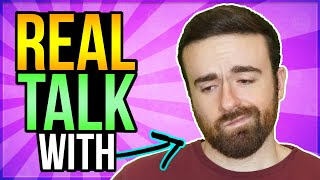 Hardest Part of Being a Youtuber is... Real Talk with Coach Cory! #1