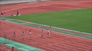 桜田舞歩選手(徳島大)女子100m予選2組、1着:12秒73 ~四国インカレ2017~