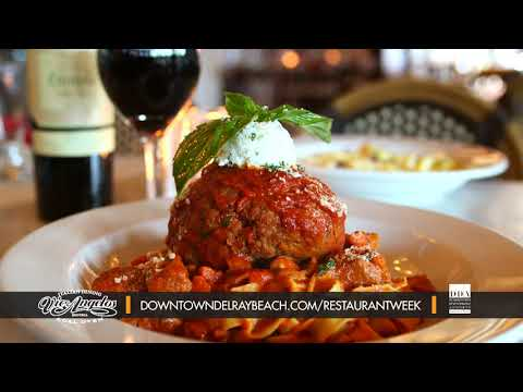 Vic and Angelo's - Dine Out Downtown Delray Restaurant Week 2019