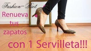 Renueva tus zapatos con una servilleta!!  | Fashion Riot Thumbnail
