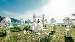 Свадьба на вилле с гостями. Элина и Денис<