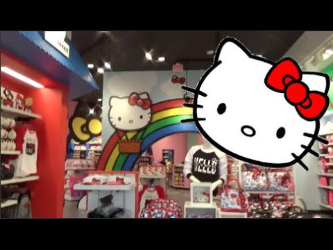 Brand New Hello Kitty Store at Universal Studios Florida