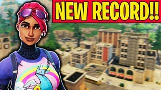 NEW KILL RECORD IN FORTNITE BATTLE ROYALE!!!! (Cizzorz Solo Squad Kill Record)