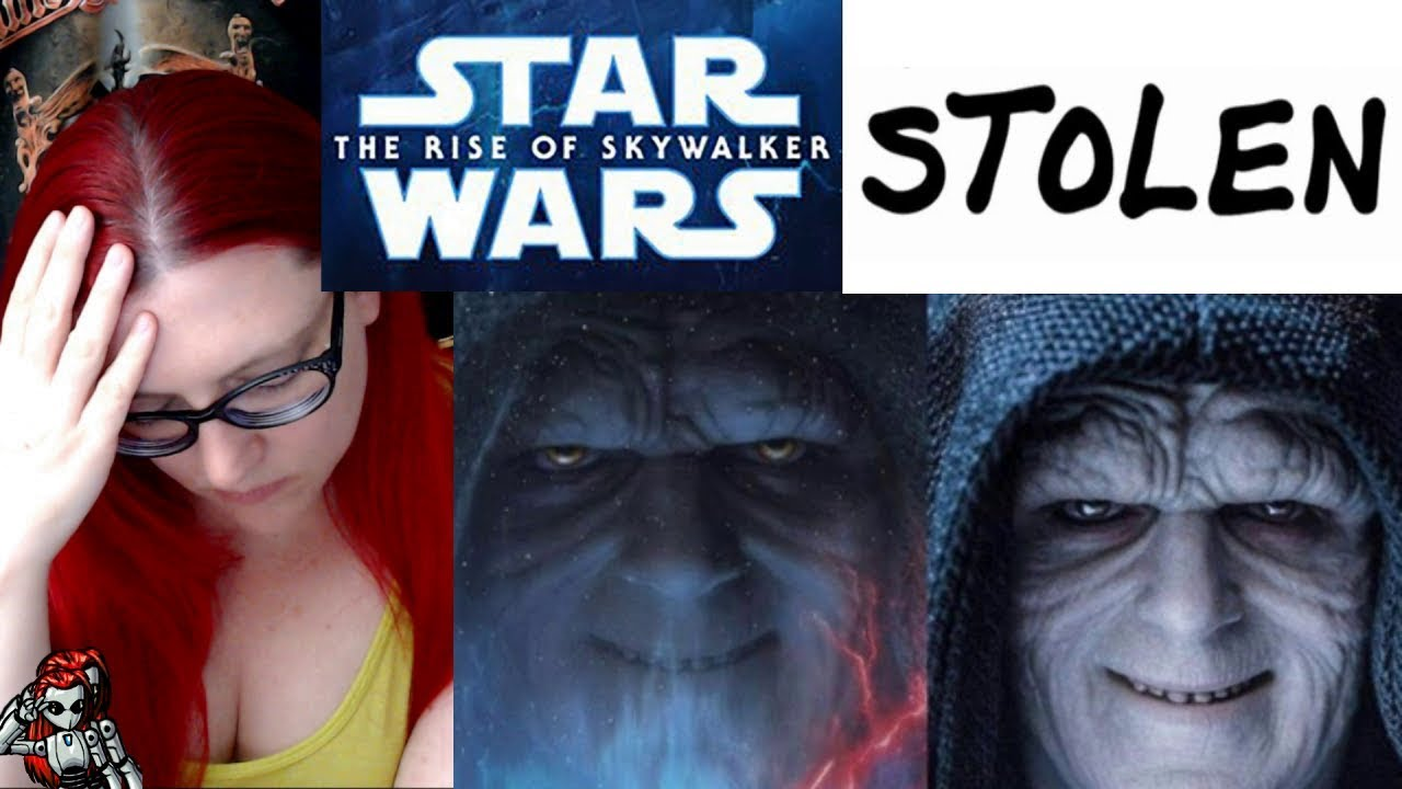 Rise Of Skywalker Poster Was A Toy Youtube