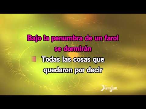 Karaoke Porque Te Vas - Arielle Dombasle *