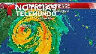 EN VIVO: Huracán Florence toca tierra en Carolina del Norte