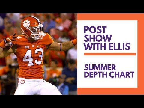 Clemson Summer Depth Chart: Chad Smith