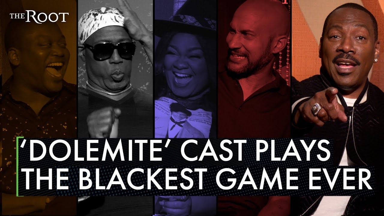 Eddie Murphy, Wesley Snipes, and 'Dolemite' Cast Play 'Black Ass Game'