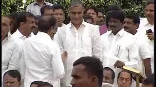 CM KCR Swearing Ceremony At Raj Bhavan 2018 LIVE  Pramana Sweekaram  Highlights 1