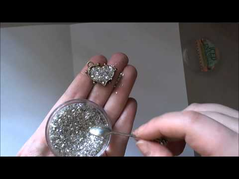 Faux Druzy Stone With ICE Resin Tutorial