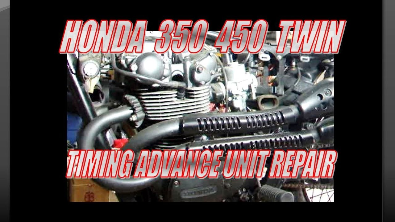 Honda 350 450 twin Ignition timing advance unit