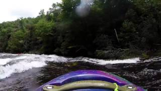 Justin and Lynn on Ocoee and West fork of the Tuck 8/22/15