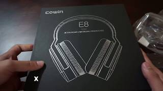 Cowin E8 ANC Headphones Unboxing and Review