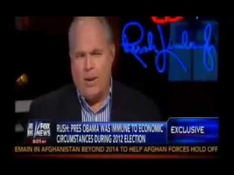Rush Limbaugh on Greta (FULL) Obama Destroying Economy - 9 Million Jobs Lost! 7/30/2013