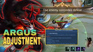 ARGUS NEW ULTIMATE IS HERE | ARGUS ULT EXPLANATION | MLBB