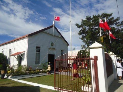 Opening of Tonga Parliament