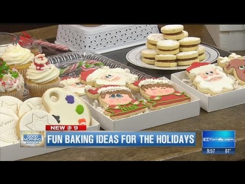 Valley Baker Competes On Food Network Christmas Cookie Challenge