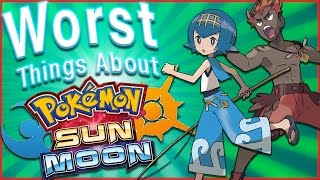 Top 5 WORST Things About Pokémon Sun and Moon (Feat. Mr. Buddy)