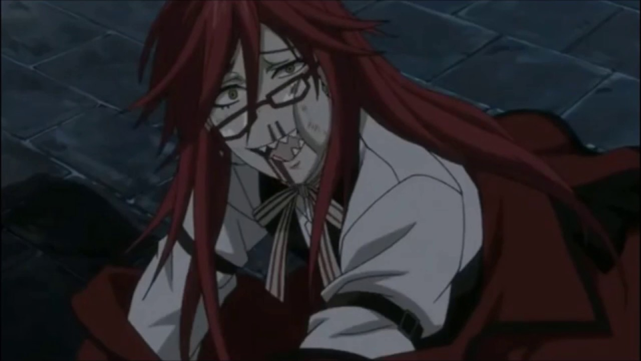Black Butler~Grell Sutcliff Funny Moments (Dubbed) - YouTube
