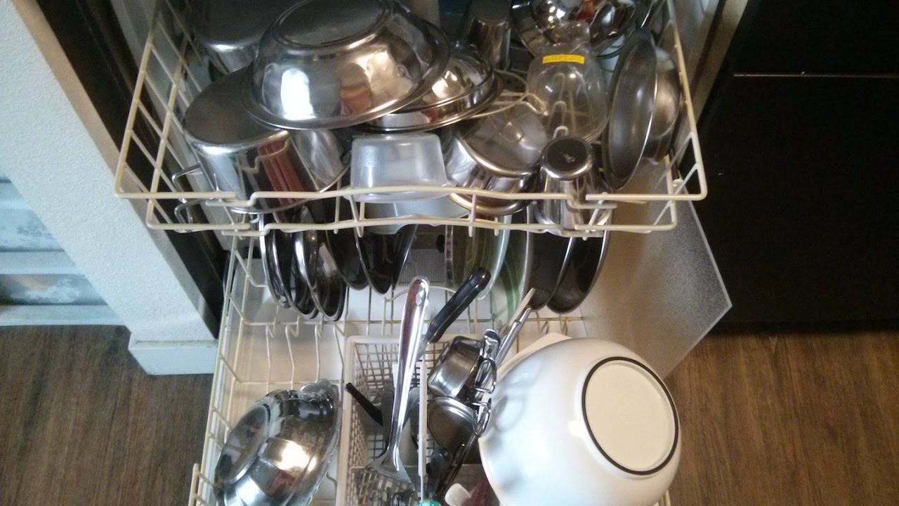 How to load the dishes in the dishwasher: how to use the dishwasher 23