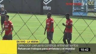 Selección peruana refuerza trabajos pensando en Escocia