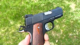 1911 desert eagle 45 acp handgun shooting