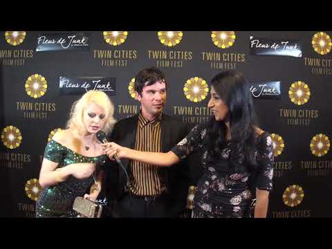 2017 TCFF Red Carpet : Tracey Fairaway and Shane Coffey Aquarians