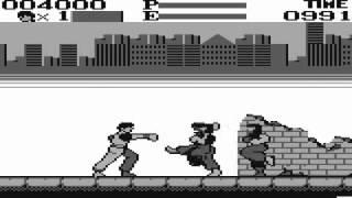 Kung-Fu Master sur Game Boy