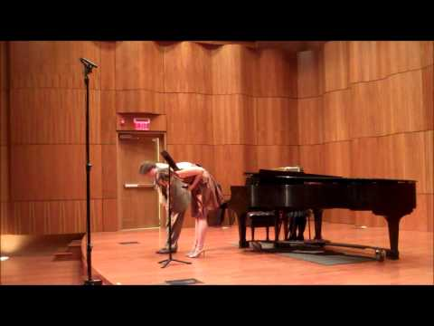 Emilie Lynn Byrd - Senior Recital - The College of Saint Rose