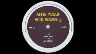 Affie Yusuf - All About