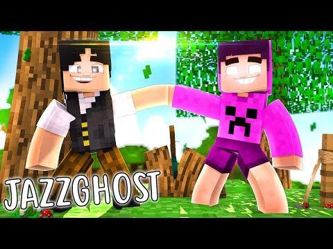 JAZZGHOST SERÁ UM AMIGO? - Minecraft Reverso ♥