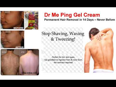 Dr Me Ping Permanent Hair Removal Cream Gel In 2 Weeks Uwanted
