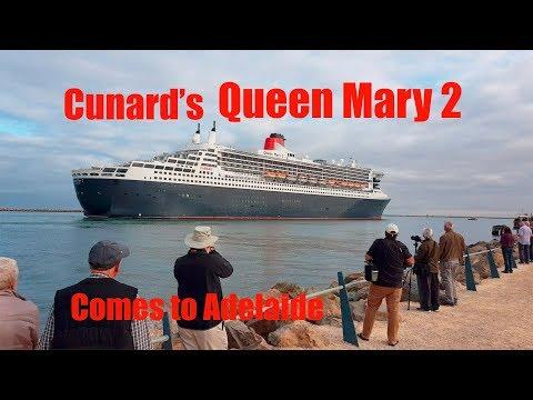 QUEEN MARY 2 CUNARD LINE