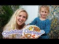 HOW TO MAKE SUGAR COOKIE PIZZA! COOKING CORNER with Dorothy and Jessica