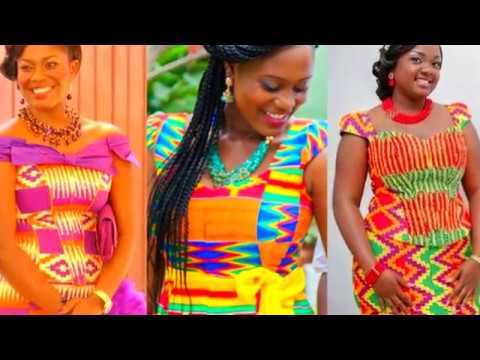 Kente Styles for Engagement 2018