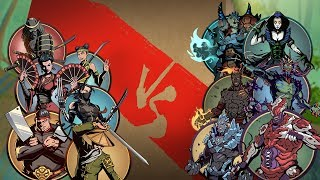 Shadow Fight 2 Finishing Raid Demons With Day Villains