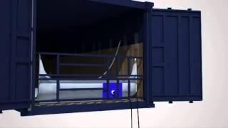 видео Перевозка наливных грузов в танк-контейнерах из Китая